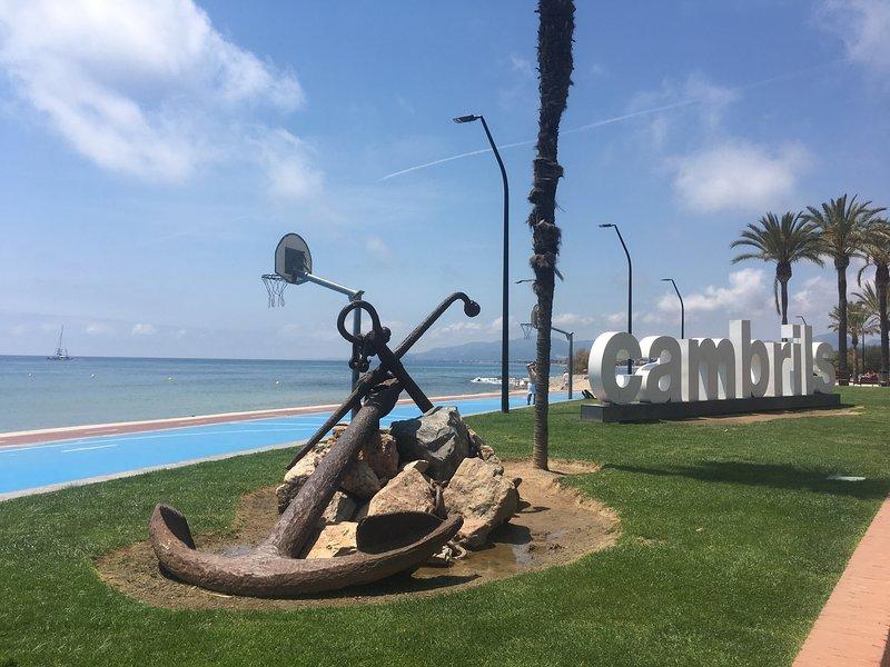 Beautiful Cambrils on the costa Dorada coastline