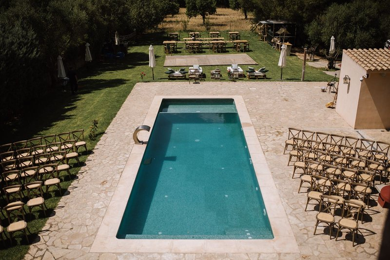 Amazing villa with swimming-pool, vacation rental in Santa Eugenia