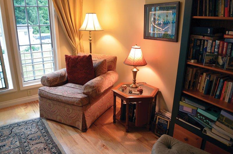 Vardagsrum | Bed & Breakfast | Lace Curtain Cottage | Chadwicks, NY