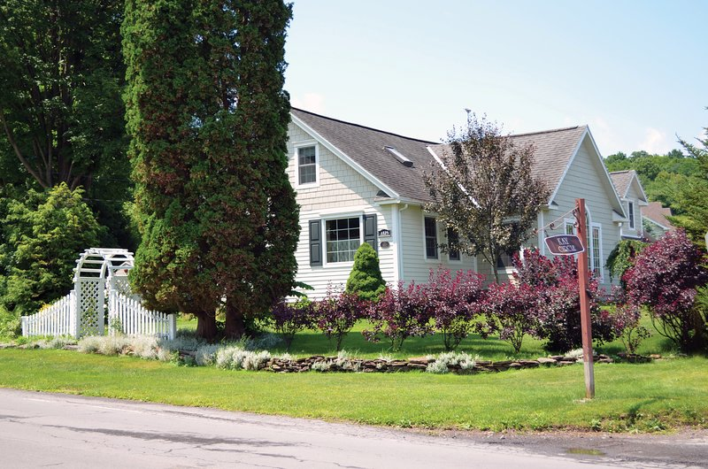 Road View | Bed & Breakfast | Lace Curtain Cottage | Chadwicks, NY
