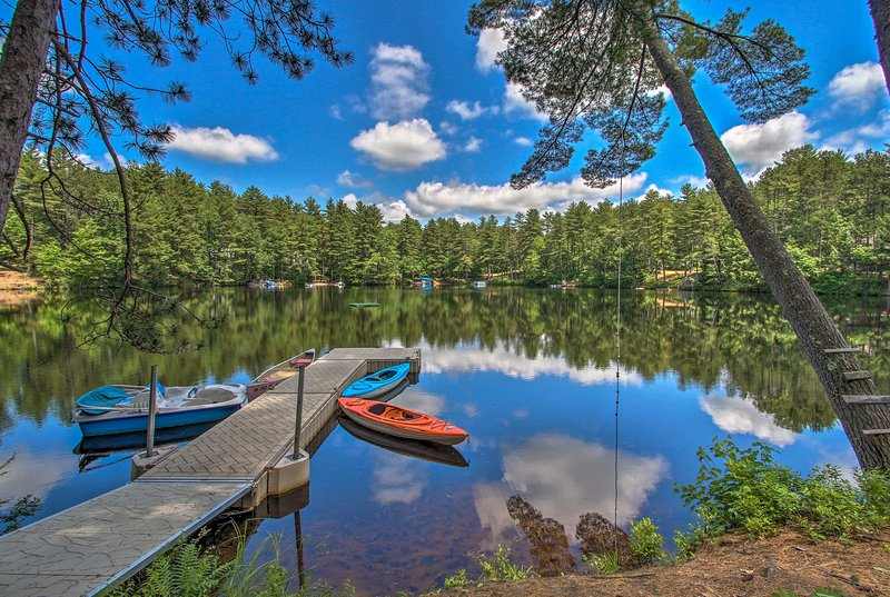 Lake Arrowhead Waterfront Cabin w/ Deck+Grill, holiday rental in Limerick