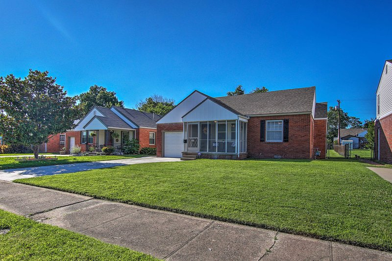 Take advantage of this home's prime location just 2 miles east of downtown!