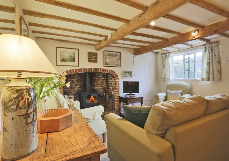 Mole End Cottage, holiday rental in Brandeston