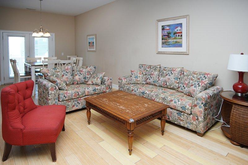 Woonkamer, binnenshuis, kamer, bank, meubels