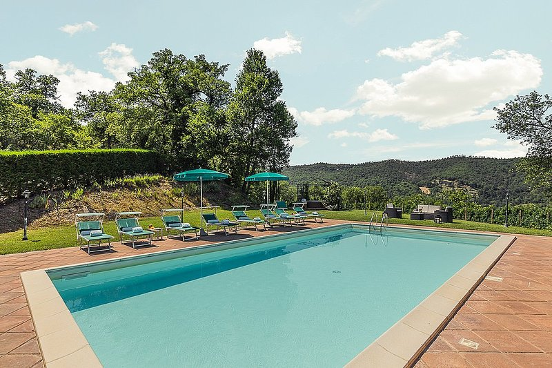 Villa Etra, holiday rental in Monterchi