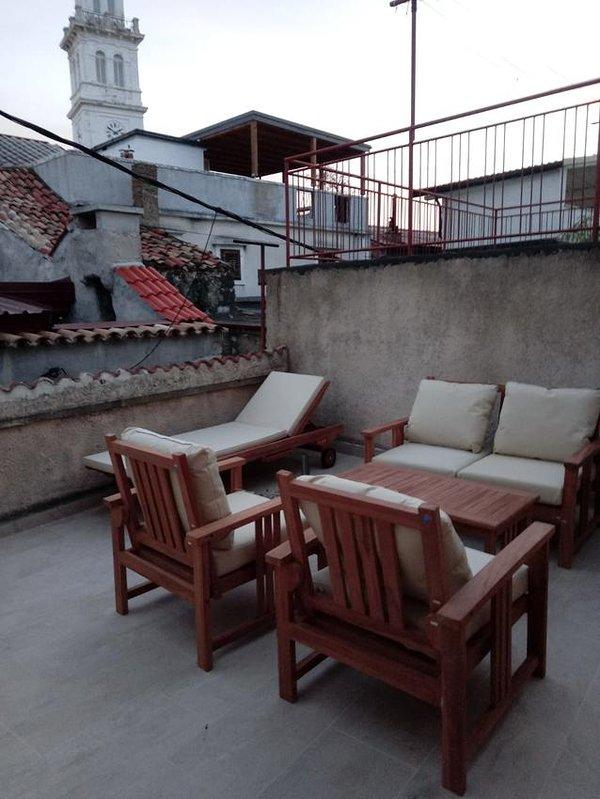 Terraza, Superficie: 12 m²