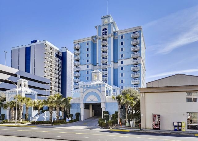 Luxury Oceanfront Ocean Blue 902-4 bedroom/ 4 bathroom, sleeps 10 people – semesterbostad i Myrtle Beach