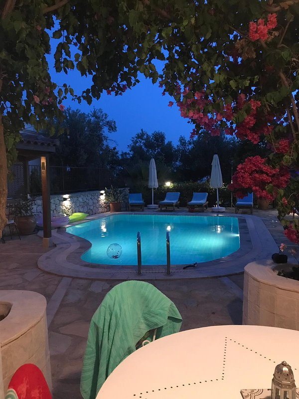 Early evening taken by one of our guests