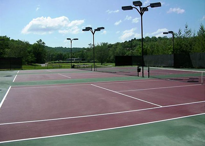 Tennis anyone? The resort boasts three lighted courts for your enjoyment.