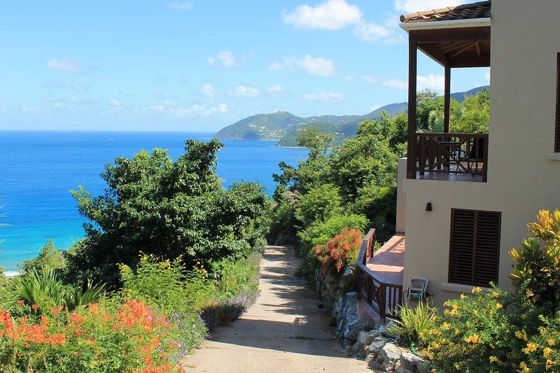 Alfresco vista, we look forward to seeing you again on Tortola.....