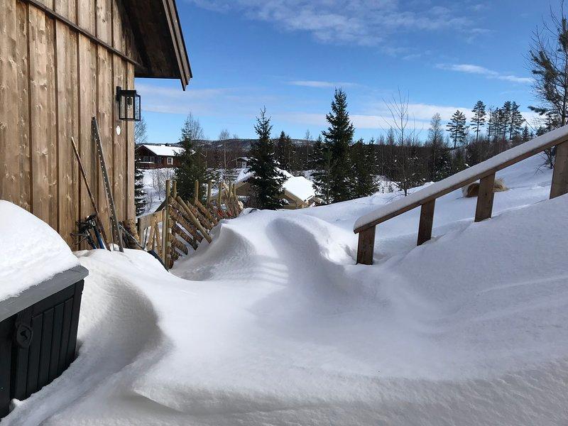 Annex Fjara 75m2 sleeps 11 guests, vacation rental in Hedmark