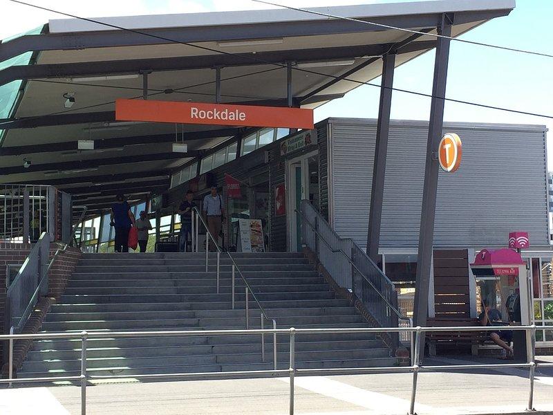 7 minutes walk to Rockdale train station