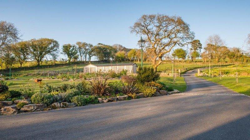 El camino de entrada a Whingreen Court Country House