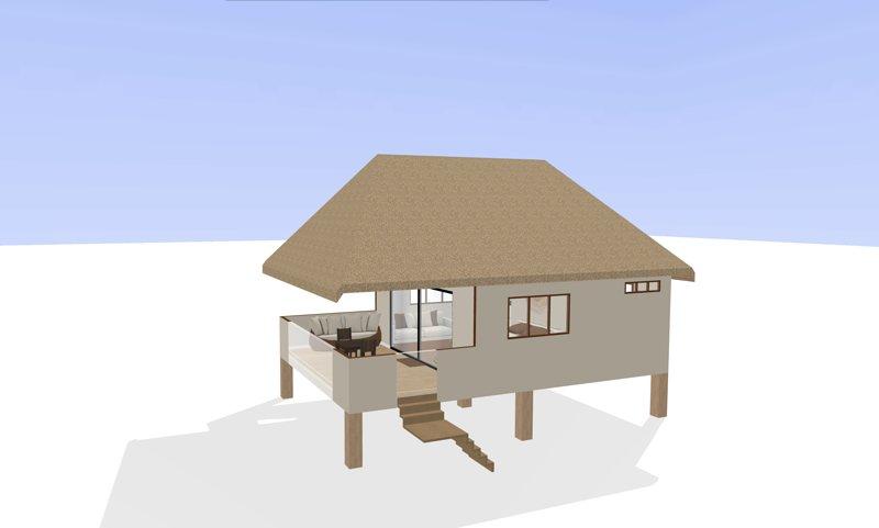 Coral Villa, casa vacanza a Aroa Beach