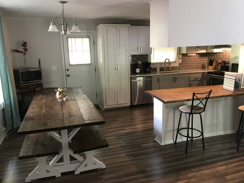 Dining Room with Kitchen combo