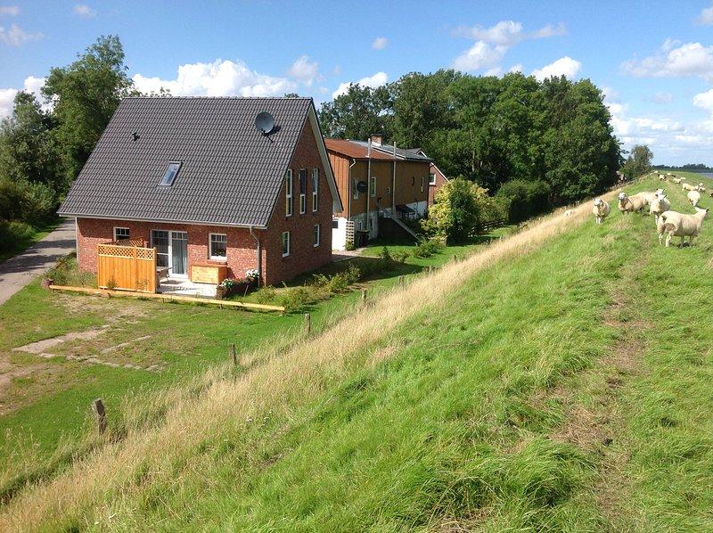 Ferienwohnung EG, location de vacances à Tetenbuell