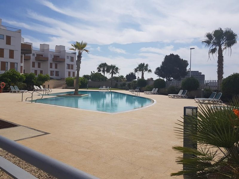 Luxury beachfront duplex, vacation rental in El Medano