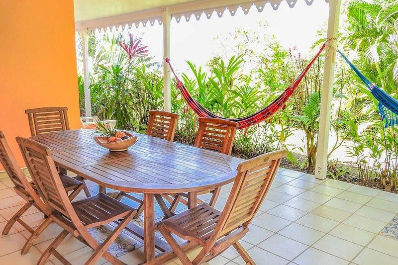 Villa Anahata, Sainte-Marie, Martinique, holiday rental in Marigot