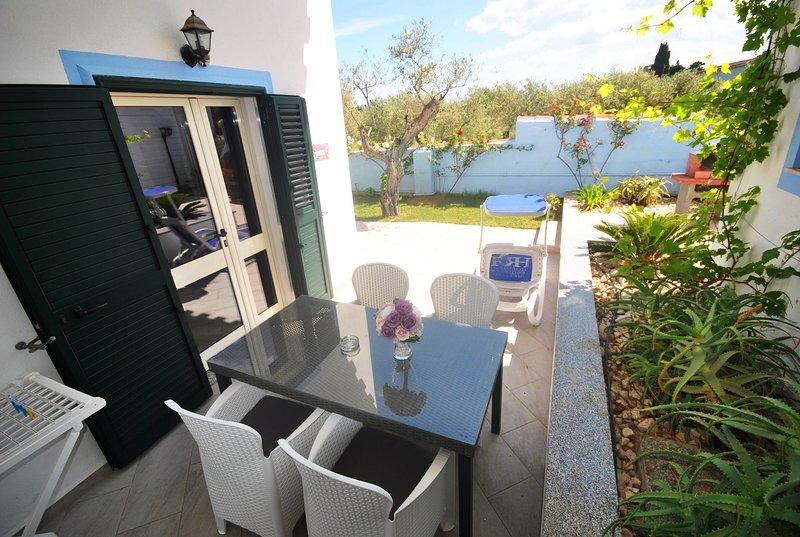 UVA: 2-room apartment on ground floor, holiday rental in Marina di Orosei