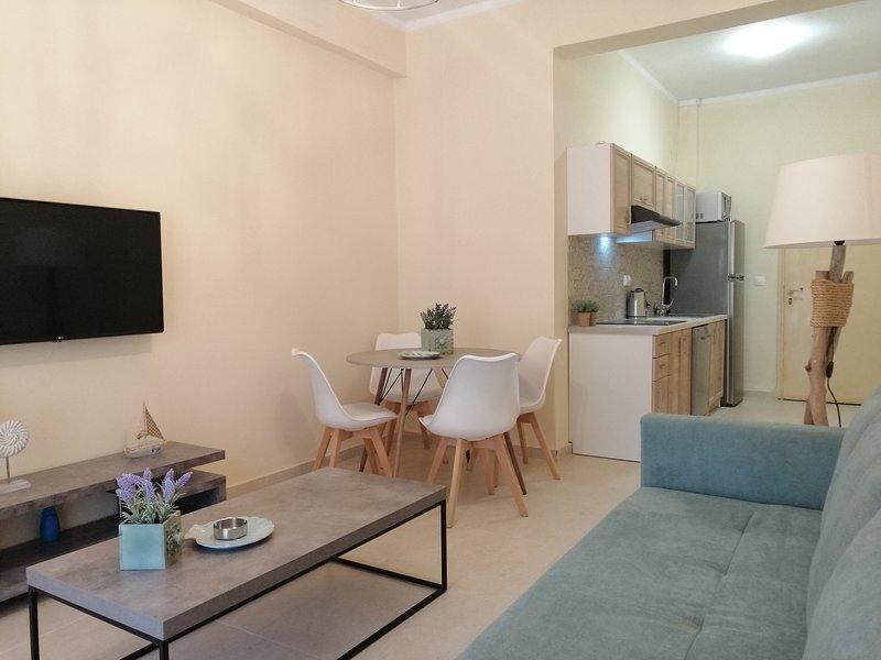 Luxe appartement in het centrum, location de vacances à Kanoni