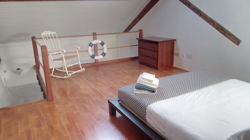 Mansard double bedroom