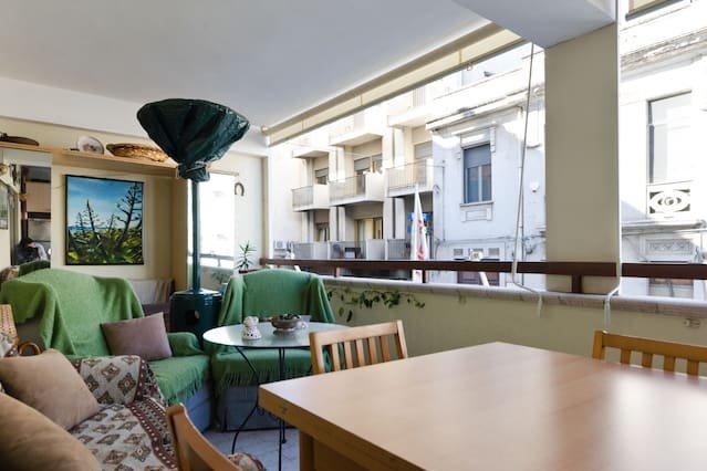 Apartment in Reggio Calabria, vakantiewoning in Gallina