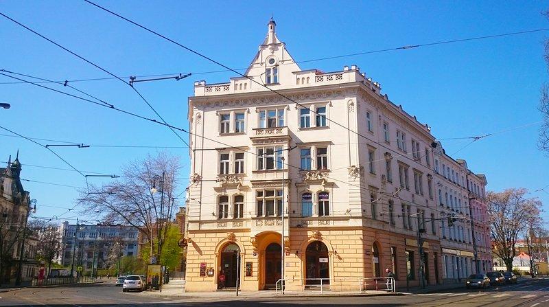 Lägenhet i en historisk byggnad