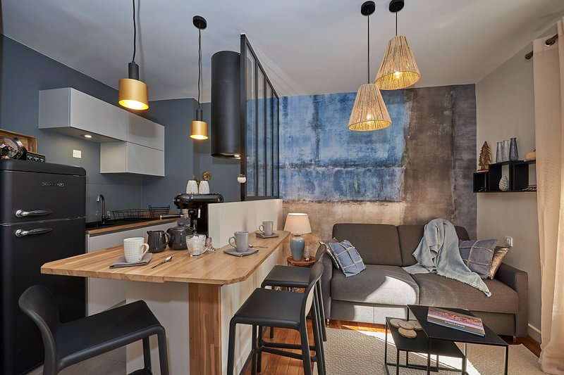 Beautiful apartment with terrace❤️air conditioned-beautifully decorated #K6, vacation rental in Grenoble