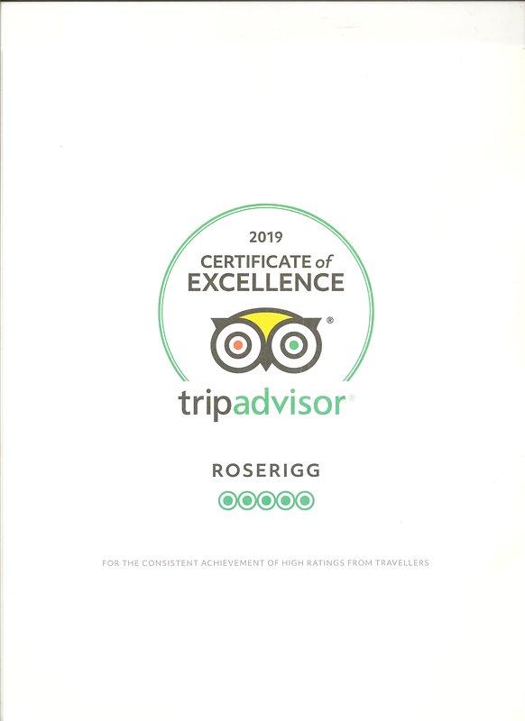 Certificat d'excellence 2019
