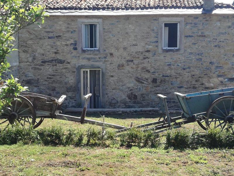 casa en alquiler cedeira, vacation rental in Valdovino