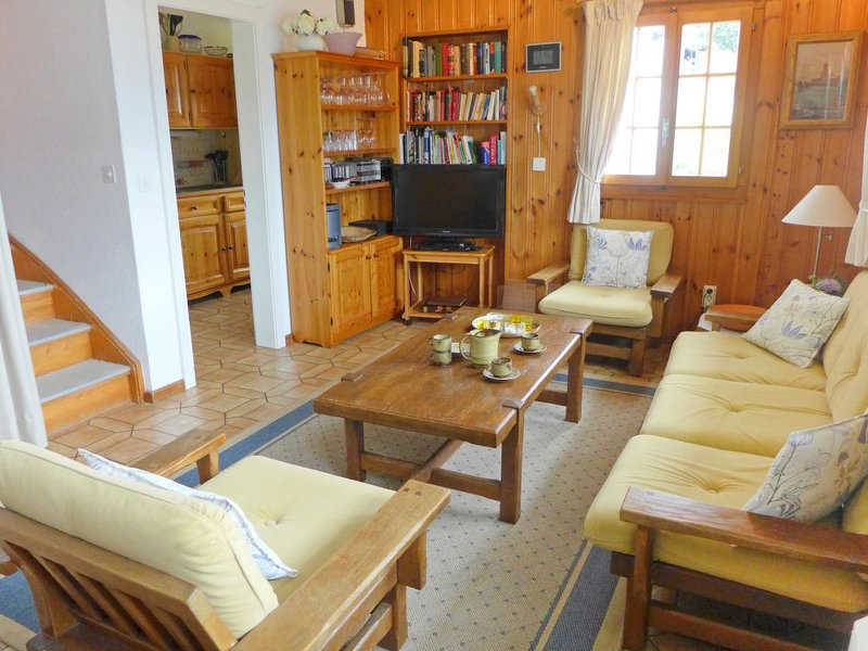 Les Roches, vacation rental in Veysonnaz