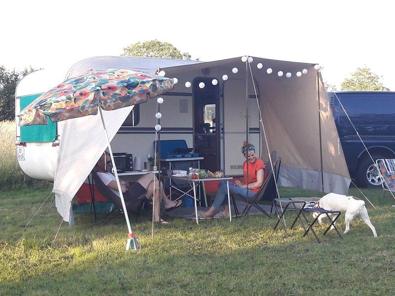 Les prairies de pacouinay, camping chez l'habitant. – semesterbostad i Coulon