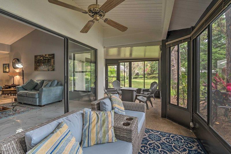 Sortez dans cette chambre en Floride dans cette location de vacances pour 6 personnes.