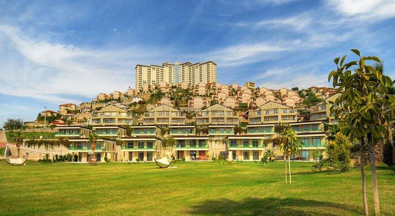 2+1 rooms app in 5***** hotel, rental price by 15 euro, casa vacanza a Kargicak