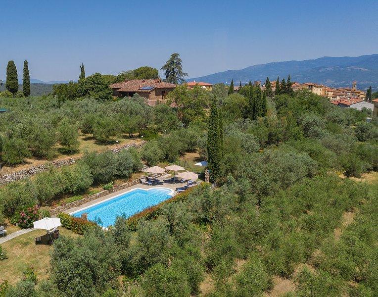 Villa Pergine, alquiler de vacaciones en Pergine Valdarno