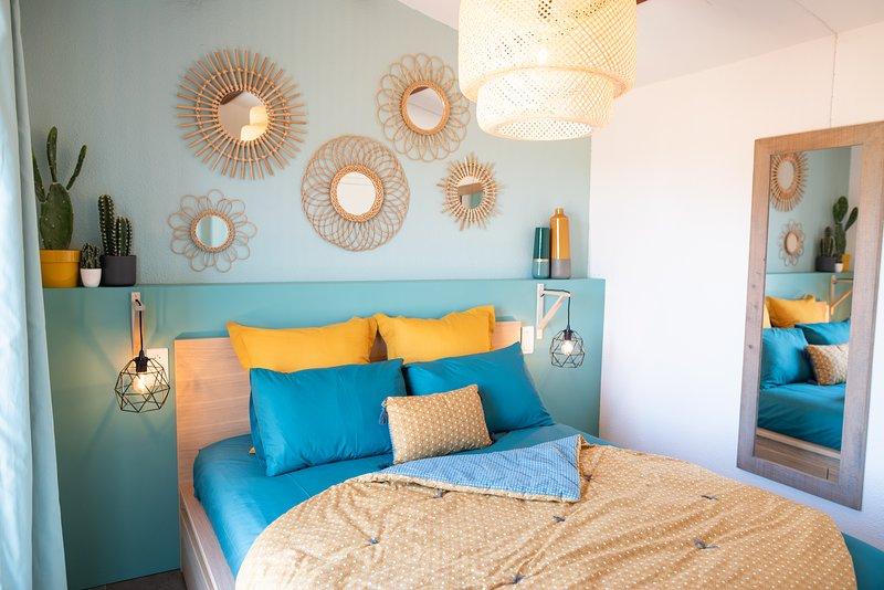 Maison 4 pers. à 5 min à pied de la plage de Santa Giulia, holiday rental in Santa Giulia