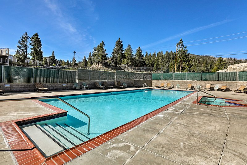 The 2-bed, 2-bath vacation rental features seasonal access to resort amenities!