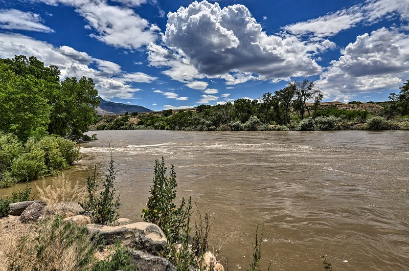 The Colorado River runs right through town for breathtaking views!