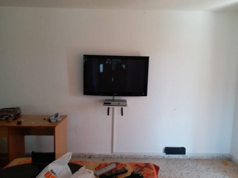 Lado esquerdo do apartamento