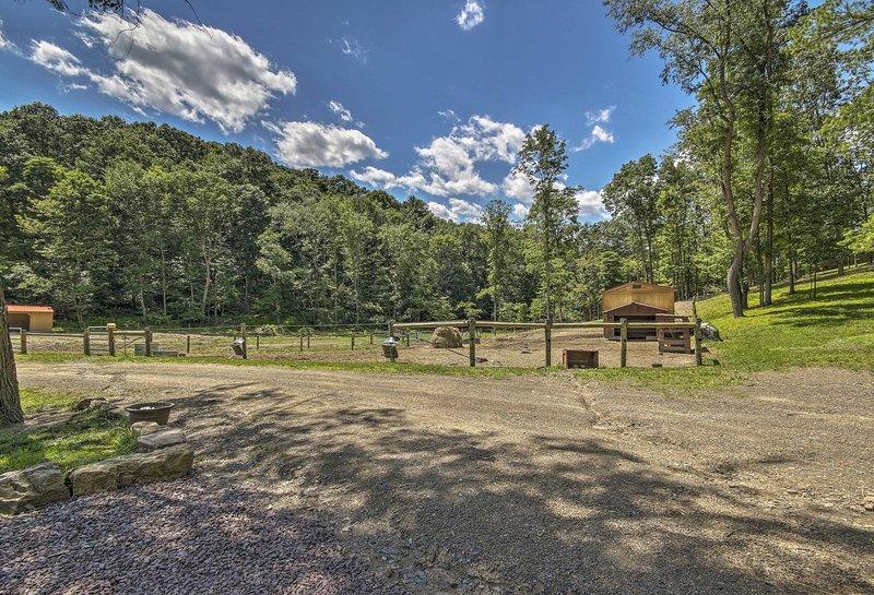 Cette cabine dispose de 50 acres de belles terres agricoles!