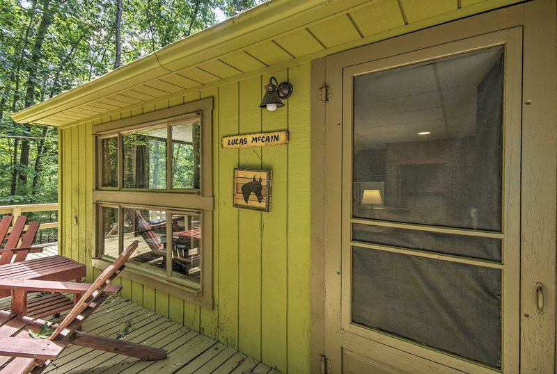 Welcome to the 'Lucas McCain Cabin!'