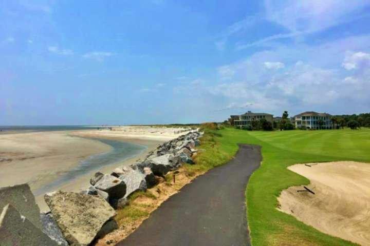 Millas de playa de arena