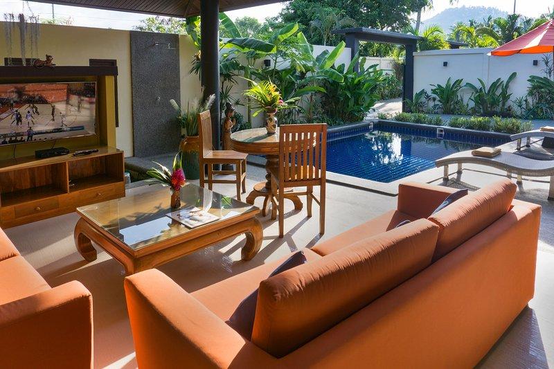 Enjoy the romance of the villa