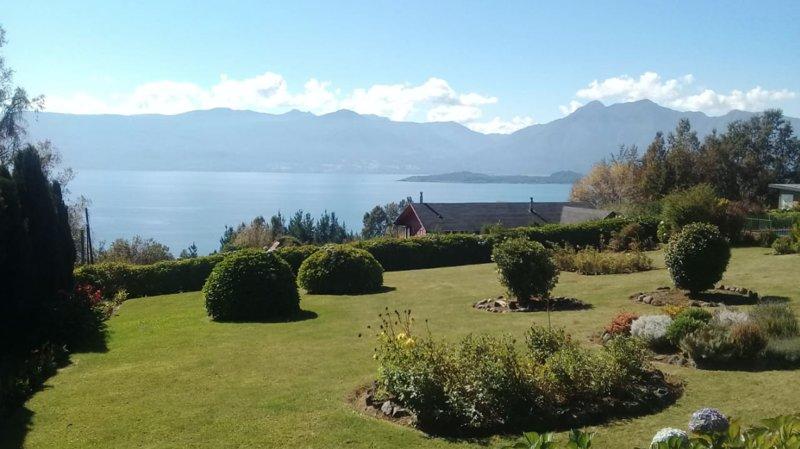 View to Villarica Lake