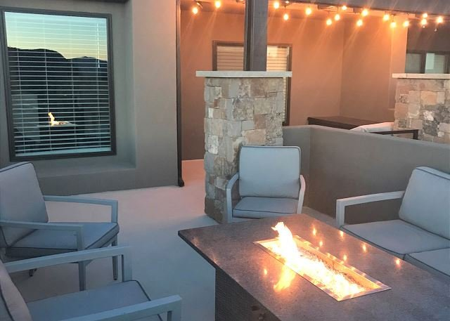 Front Patio & Firepit