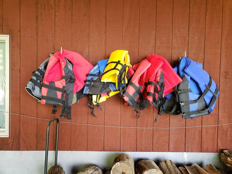 Begränsat urval av livvästar för sjöbruk