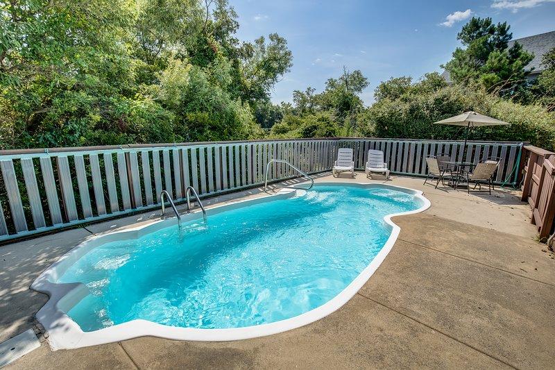 A Corolla Corral | Sound Side | Private Pool, Hot Tub