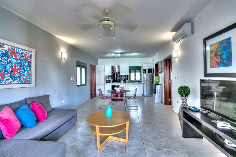 Lovely apartment with direct pool access, vacation rental in Bavaro