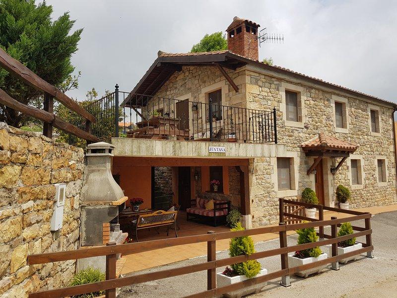 casa juntana, aluguéis de temporada em Corvera de Toranzo