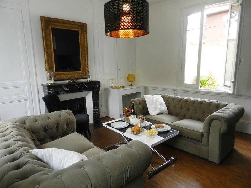 Maison de famille avec 'Chez Paulette', alquiler de vacaciones en Pont-Audemer
